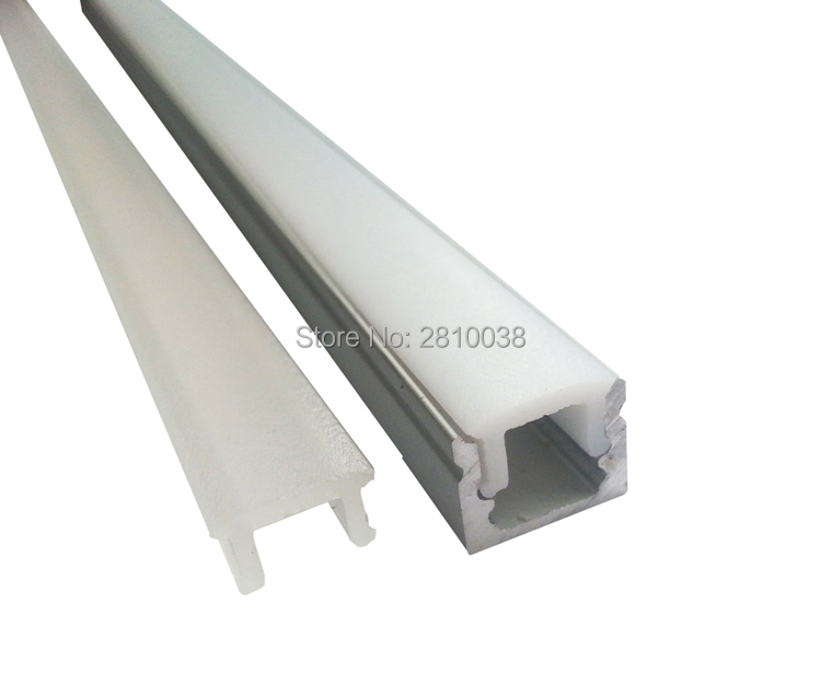 200 X 2M Sets/Lot Super thin led aluminum profile and small u led channel for wall or ground or floor lamps