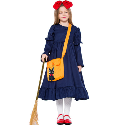Kiki's Delivery Service cosplay costume  adult kid dress for Halloween carnaval purim party cosplay costume gift