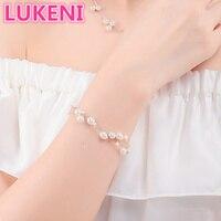 Роскошные чистый несколько слоев S925 стерлингового серебра perfect Natural жемчужный браслет моды жемчужный браслет для женщин Бесплатная доставк...