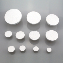 18cm in diameter white Half Round Solid Polystyrene Styrofoam Foam Ball for children/kids DIY handmade Party Wedding Decoration