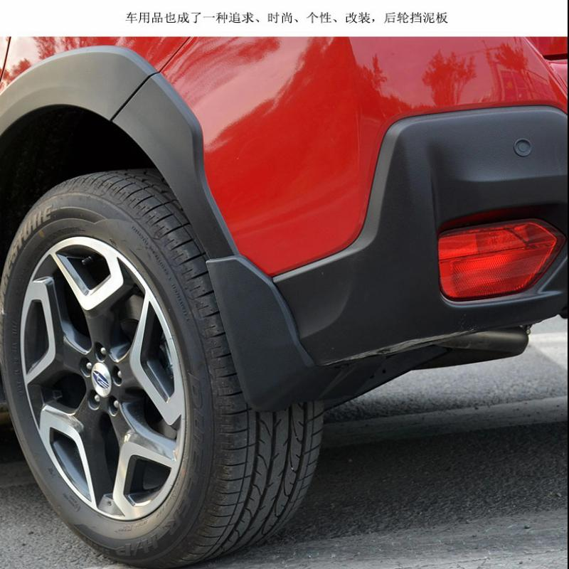 Car Styling Accessories For Subaru XV 2018 Mud Flaps Splash Guards Mudguard Fender With Screws Car-Styling Sticker 2019 4pcs все цены