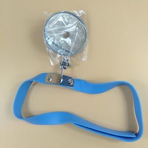 Image 3 - Refletor para médico 8mm visor de testa para otorrinolaringologia médicos estagiários estudantes frontal espelho especial para ent