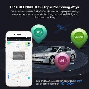 Image 4 - 미니 gps 트래커 자동차 gps 트래커 방수 ip65 google지도 실시간 트랙 충격 컷 라인 알람 gps 로케이터 지오 펜스 무료 app