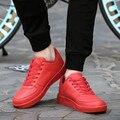 Мужчины Повседневная Обувь с Красной Подошвой Обувь Для Мужчин Квартиры Моды Дышащая Обувь Zapatos Hombre Sapato Feminino