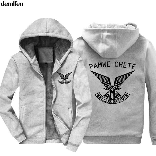 Online Shop Rhodesian Army Pamwe Chete Selous Scouts Special Forces Hoodies  Men s Fashion Cotton Coat Hooded Keep Warm Sweatshirt  eae3b1e90