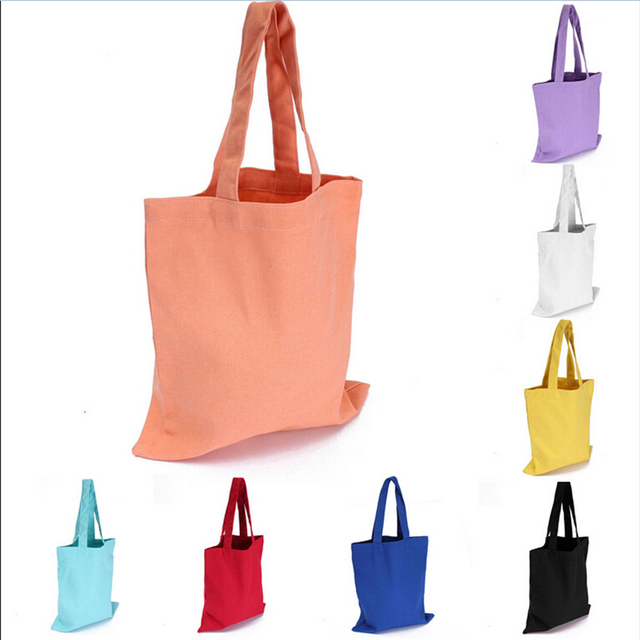 e308b1629274 1 PC Fashion Canvas Shopping Bags Women Shoulder Bags Handbag Messenger Bag  Canvas Satchel Bags For Shopping