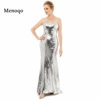 Vestidos De Festa Abendkleider Sheath Sleeveless High Quality Sequins Lace 2015 Charming Style New Shiny Prom