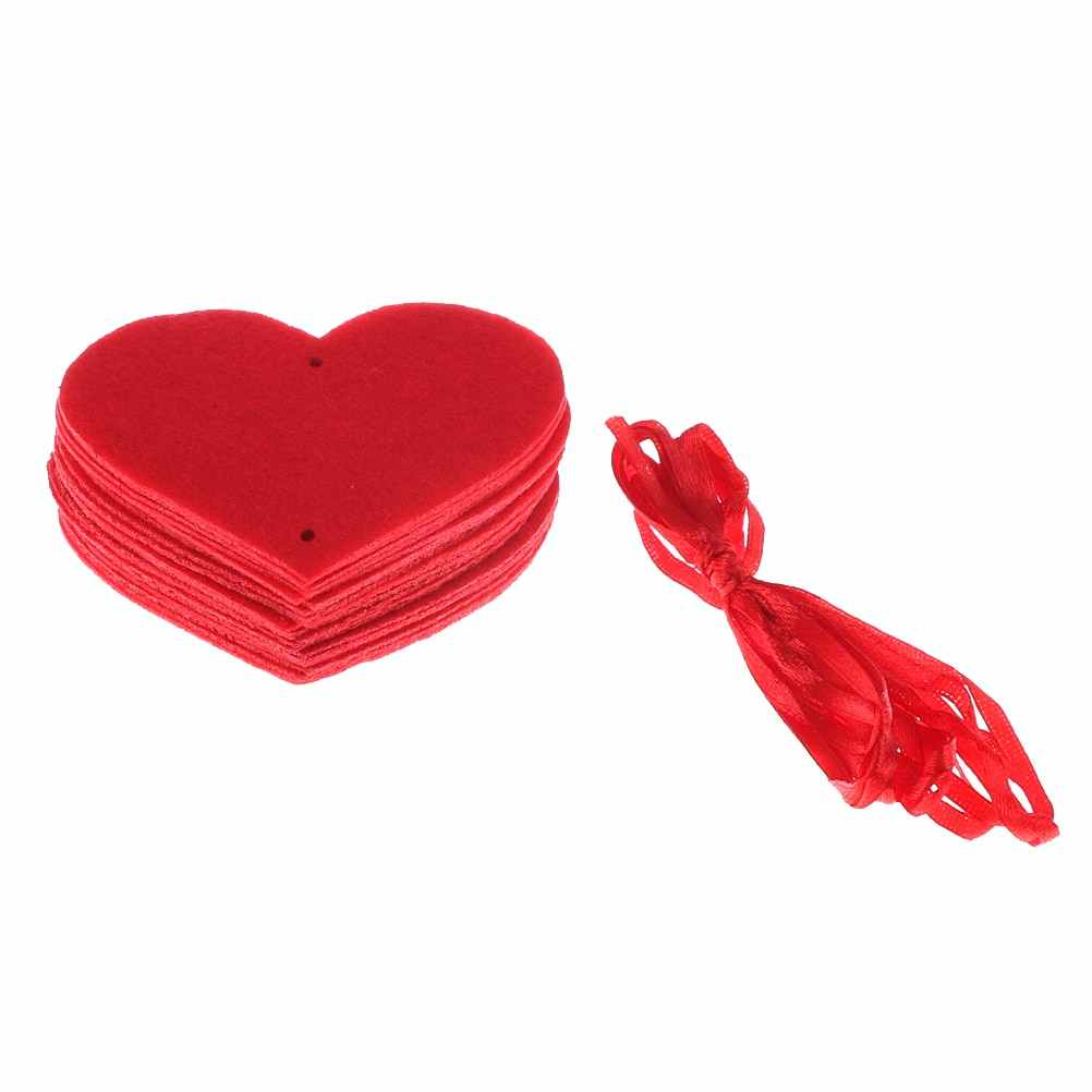 18 сердец романтическое свадебное украшение 3 м оформление комнаты для бракосочетания DIY Нетканая гирлянда креативная Любовь Сердце занавеска свадебные принадлежности