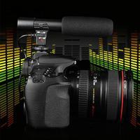Digital Video Camera Professional Studio Stereo Shotgun Recording 3 5mm Microphone Microphone For Nikon Canon Sony