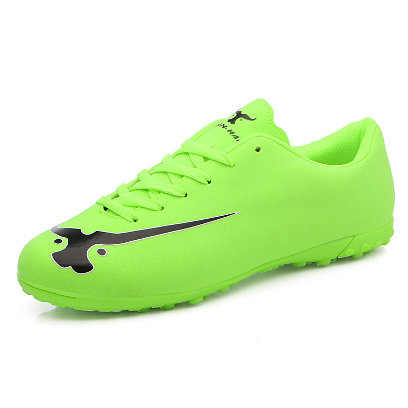 Long Spikes Cleats Leather Men Soccer Shoes Outdoor Male Trainer Shoes Sneakers Men Sport Shoes Footwear Foot BallLong Spikes Cleats Leather Men Soccer Shoes Outdoor Male Trainer Shoes Sneakers Men Sport Shoes Footwear Foot Ball