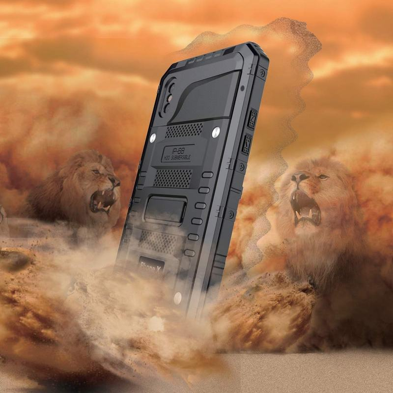 Ascromy-For-iPhone-X-Case-Heavy-Duty-Rugged-Armor-Defender-Cover-For-iPhone-X-10-8-7-6-6S-Plus-IP68-Waterproof-Shockproof-Coque (2)