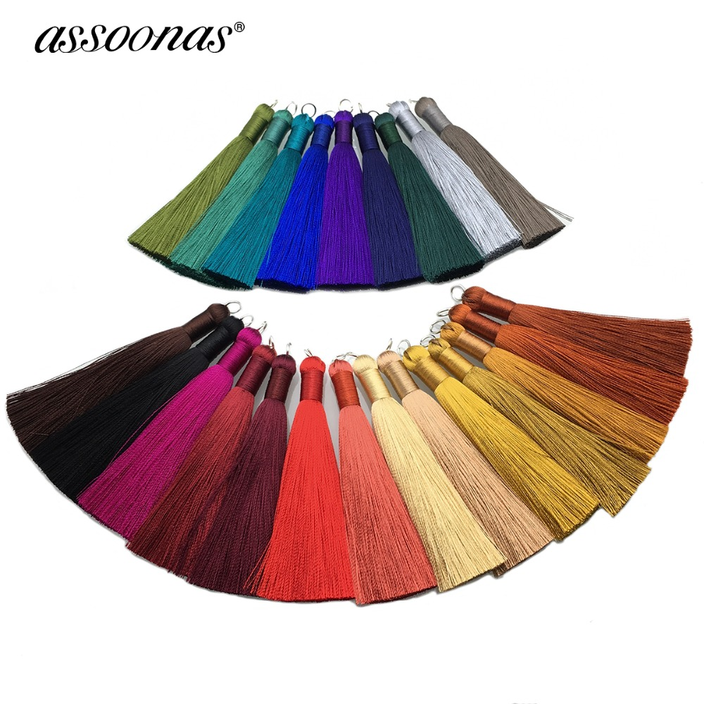assoonas L62/accessory parts/jewelry accessories/jewelry findings/embellishments/diy/silk tassel/hand made/jewelry making diy jewelry findings