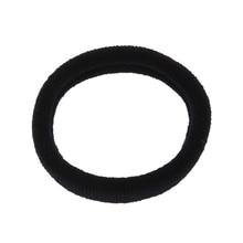 MYPF-20 Pcs Black Elastic Hair Bands Ponytail Holders for Ladies Women