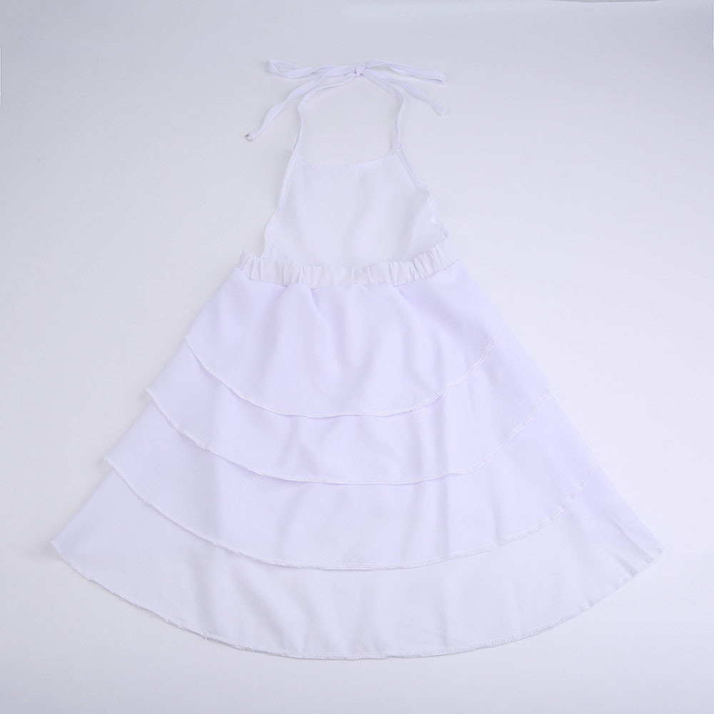 2 Colors Hot Cute Newborn Infant Baby Girl Solid Sleeveless Fold Dress Outfits Clothes High Quality Dropshipping AG30 19