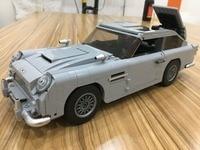 Lepin 21046 Creator James Bond Famous Car Aston DB5 Model Building Block Bricks Toys Compatible With Legoings Technic
