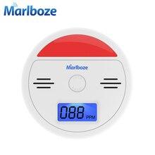 Marlboze Звуковой и световой Датчик CO ЖК Фотоэлектрические Home Security Дает Отравление Угарным Газом Сигнализации Детектор 85dB