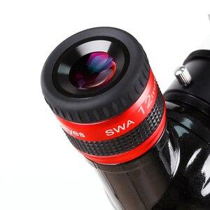 Image 3 - Angeleyes szeroki okular SWA 70 stopni bardzo szeroki kąt achromatic 1.25 cal teleskop akcesoria duża ogniskowa