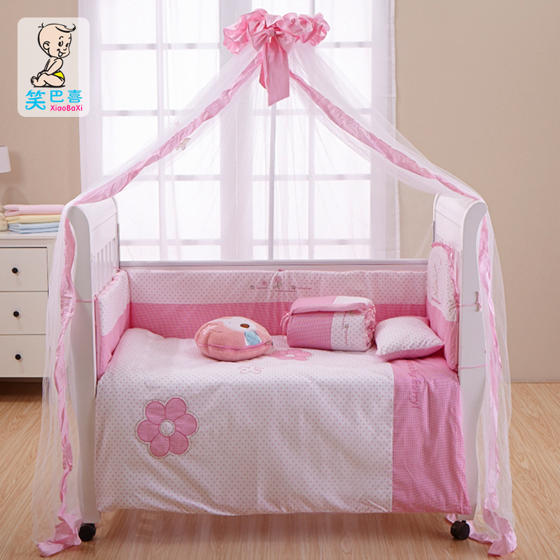 Free Shipping Luxury Floor Baby Mosquito Net Belt Mount Bed Crib Netting Toddler Canopy In From Mother Kids On