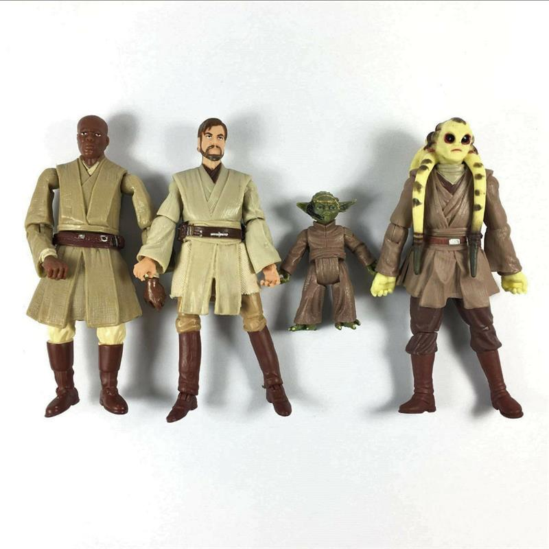 Randomly Lot5 STAR WARS 3.75/'/' Clone Trooper droid yoda Action Figure Collection