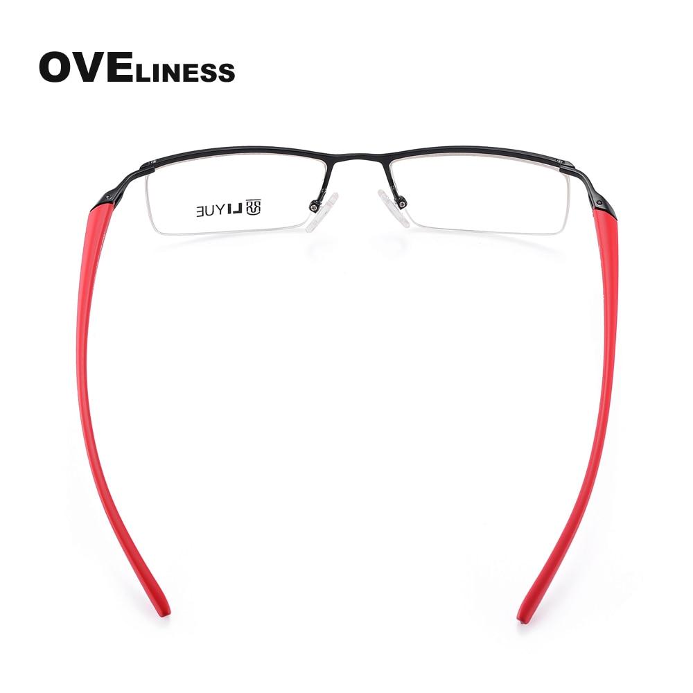 Moda Marka Dizayneri Optik Eynək çərçivə resepti Eyewear Clear - Geyim aksesuarları - Fotoqrafiya 4