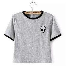 Poleras чужой camisetas отпечатано femme mujer футболка футболки де лето топы