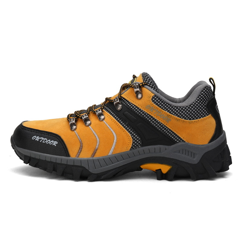 Men Hiking Shoes for men Explore Sneakers Waterproof Outdoor Sports Shoes Trail Track Cross Country Fitness Shoes