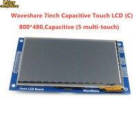 7 inch بالسعة اللمس LCD (C) 800*480 بكسل متعدد الألوان الجرافيك LCD ، TFT I2C اللمس شاشة وحدة عرض جزءا لا يتجزأ 10KB ROM