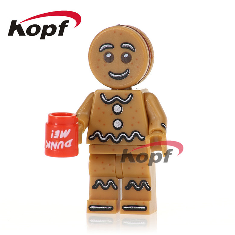 20Pcs Building Blocks Super Heroes Inhumans Royal Family Gingerbread Man Rocket Boy Assemble Bricks Children Gift Toys PG1028