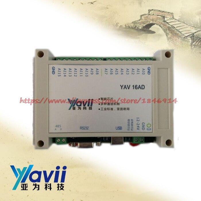 USB16AD alta precisione (12 bit) modulo di acquisizione del segnale dati LabVIEW routine di tensione e correnteUSB16AD alta precisione (12 bit) modulo di acquisizione del segnale dati LabVIEW routine di tensione e corrente