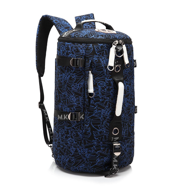 Men's Multi-Functional Backpack Vintage Shoulder Bag High Quality Canvas Male Bagpack Rucksack Travel Luggage for Weekend 15