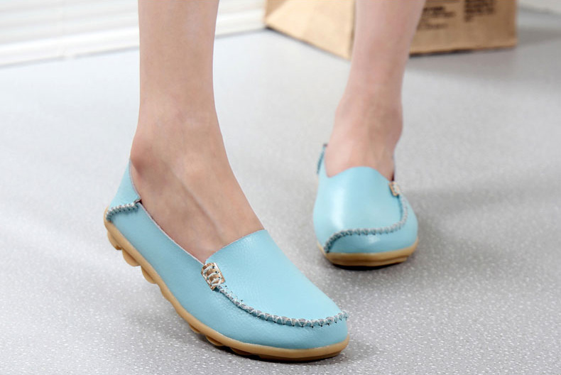 AH912 (31) women's loafers shoe