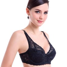 Fashion sexy bra 32 34 36 38 40 B C Big Cup French Lace Bra spring summer Thin cotton Underwear Sexy Lingerie push up