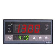 Цифровой PID Temp Контроллер REX-C410 48*96 мм горизонтальный, вход термопары K, релейный выход для тепла