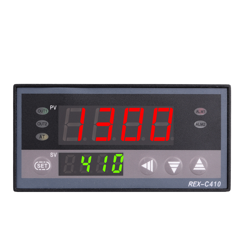 Digital PID Temp Controller REX-C410 48*96mm Horizontal, Input thermocouple K, Relay Output for heat
