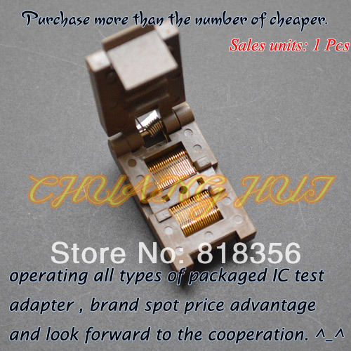 IC TEST FP-40-0.5 test socke Clamshell SSOP40 socket Pitch=0.5mm