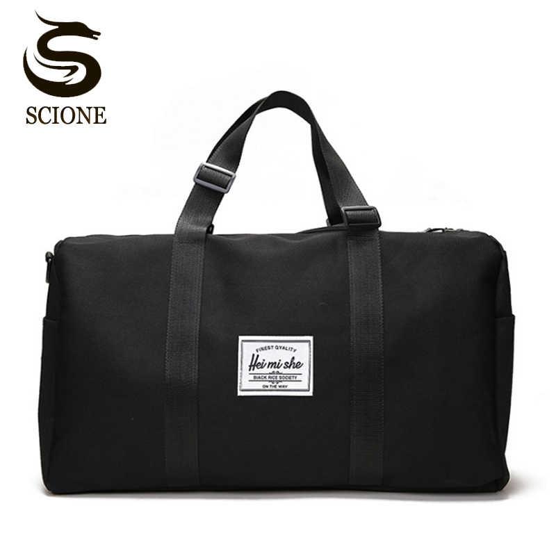 6b5cba553dc2 Portable Travel Bags Hand Luggage for Men   Women Travel Duffle Bags Tote  Large Handbags Duffel