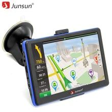 Junsun 7 inch HD Capacitive Car GPS Navigation 8GB MP3/MP4 FM Russia Navitel map Permanent free update navigators