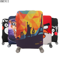 HMUNII Brand Travel Thicken Elastic Color Luggage Suitcase Protective Cover Apply To 18 32inch Cases Travel