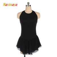 Nasinaya Figure Skating Dress Customized Competition Ice Skating Skirt for Girl Women Kids Patinaje Gymnastics Performance 267