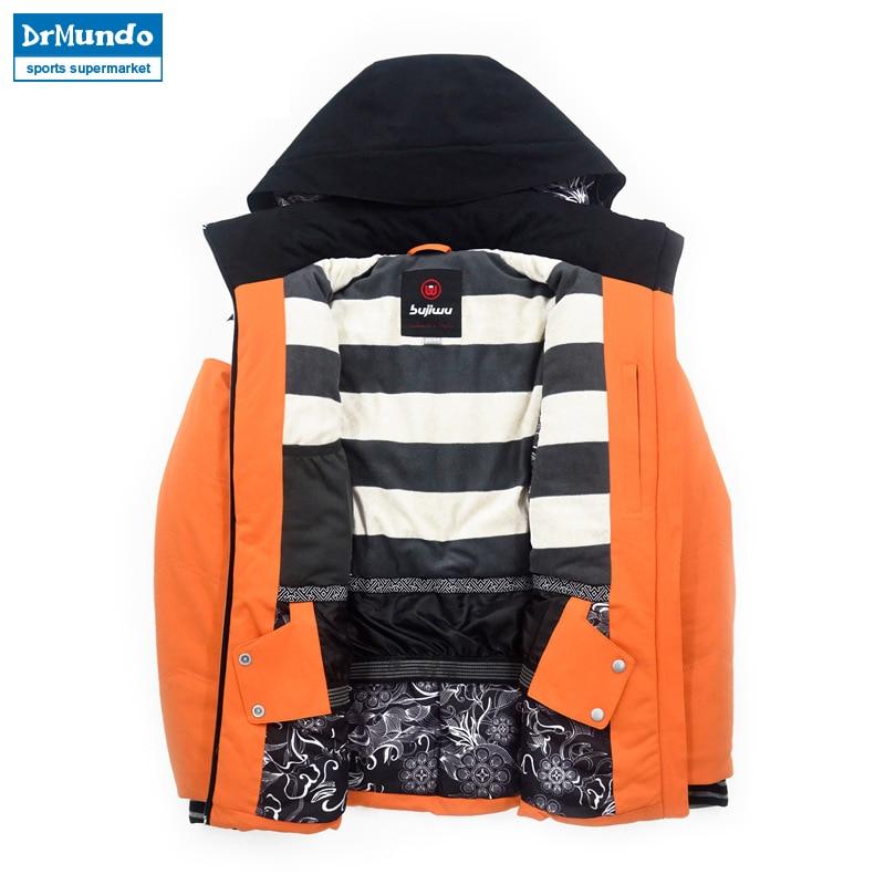 2018 nouvelle marque hiver chaud veste de Ski manteau de neige pour les femmes 2 couleurs taille s-xxl imperméable hiver Snowboard veste femmes - 4