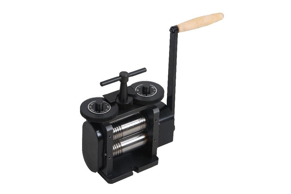 Flache Quadratische & Half Runde Kombination Walzwerk 130 mm Schmuck Werkzeuge