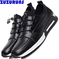 low top ultra light casual shoes men breathable flat sole trainers shoes soft leather fashion luxury brand casual shoes men 30b5