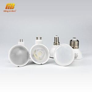Image 4 - 10pcs LED Light Bulb Spotlight GU10 MR16 E14 E27 6W 220V COB Chip Beam Angle 24 120 Degree Spotlight For Table Lamp Wall Light