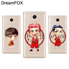 DREAMFOX M288 Slam Dunk Anime Soft TPU Silicone Case Cover For Xiaomi Redmi Note 3 4 4X 5 5A 6 7 Pro Global