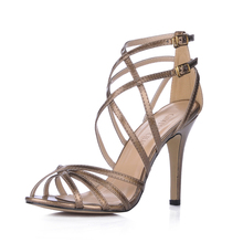 2106 New Sexy Party Shoes Women Stiletto High Heels Ladies Sandals Zapatos Mujer 210-5