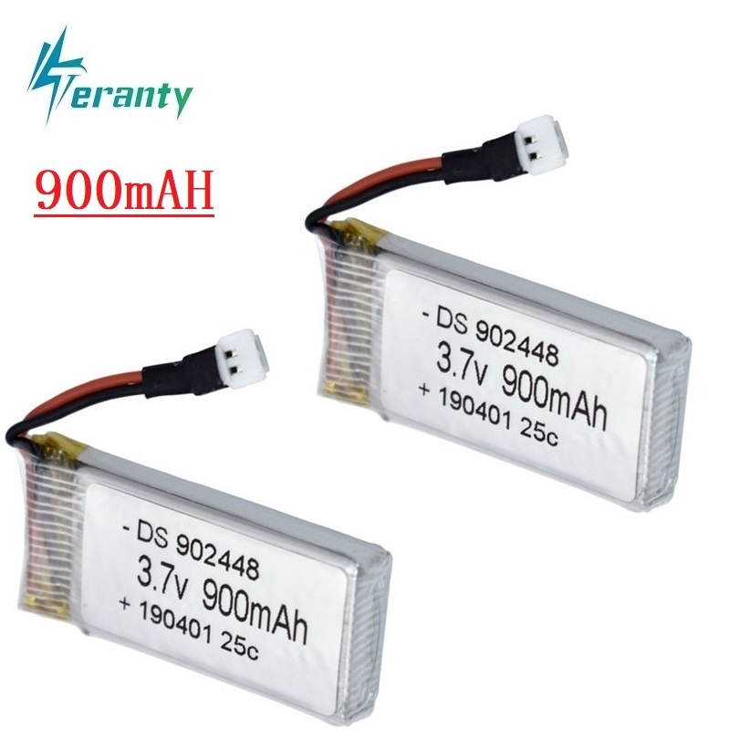 Upgrade 900mah 3.7v lipo Battery for Syma X5 X5c X5s X5sw X5sc V931 H5c Mjx X708W RC Quadcopter Spare Parts Drone Battery 2pcs