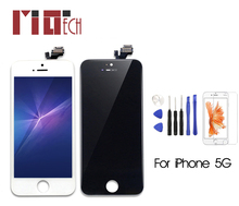 For iPhone 5 5g Touch Screen LCD Display Digitizer Assembly Replacement With Gifts AAA Quality стоимость