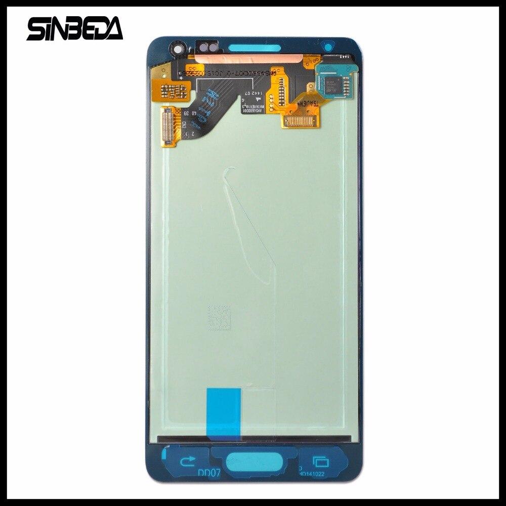 Sinbeda Super AMOLED HD Affichage Pour Samsung Note 4 Mini Alpha G850F G850M 4.7 pouce Écran lcd + Écran Tactile Digitizer Assemblée