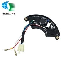 7KW Single Phase AVR Automatic Voltage Regulator For Generator Adjustable