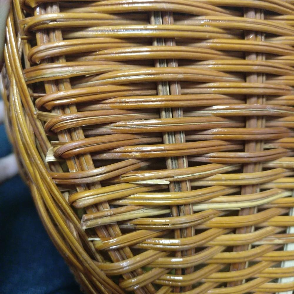 18 Summer Beach Bamboo Bag Straw Women Handbag Handmade Woven Bag Luxury Designer Tote Travel Clutch Lunch Bags snx008 30 OFF 2